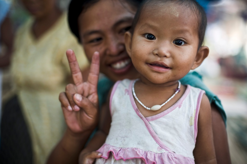 What is happiness for you? This photo was taken by Steve in Kachin state. It is one of our favorite photos.