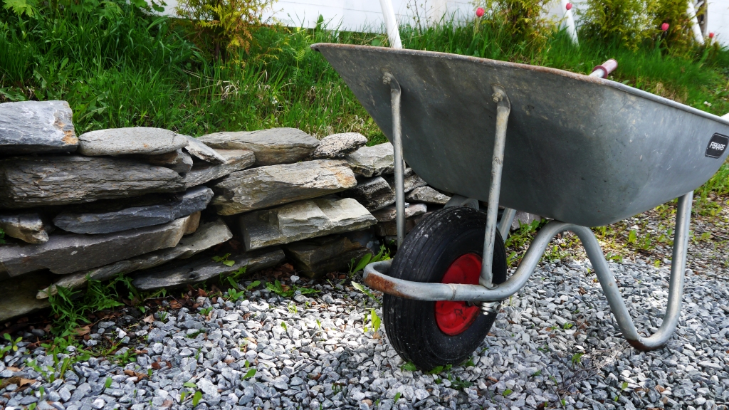 my wheelbarrow