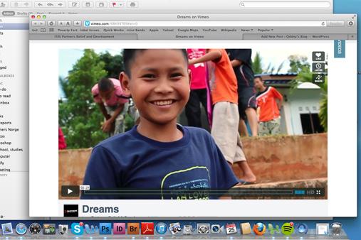 Screenshot vimeo