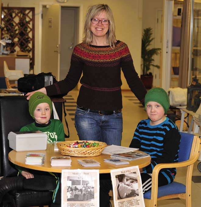 One of the things I really admire is when people spend their time and own money to help others. Like my friend, Hanne, and her sons who on their own initiative sold sponsorships and collected money for Partners. I hope they felt happy afterwards.