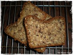 You can make delicious bread with just lots of seeds and some other ingredients that you can ask me for.