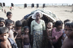 In detention for three years and without food; the Rohingya people plan their escape and accept the terrible risk.