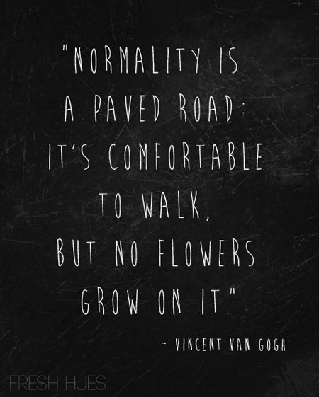 Van Gogh on normal