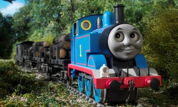 Even Thomas the Tank Engine is taking on the values of the world. He has become selfish.